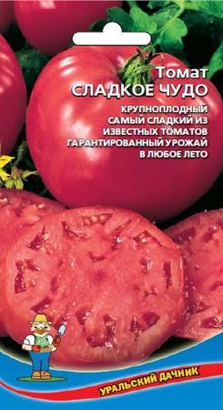 Томат сладкое чудо: описание сорта, характеристики, фото русский фермер