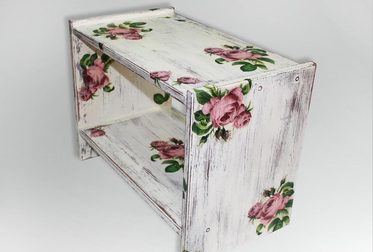 Декупаж мебели салфетками своими руками | home-ideas.ru