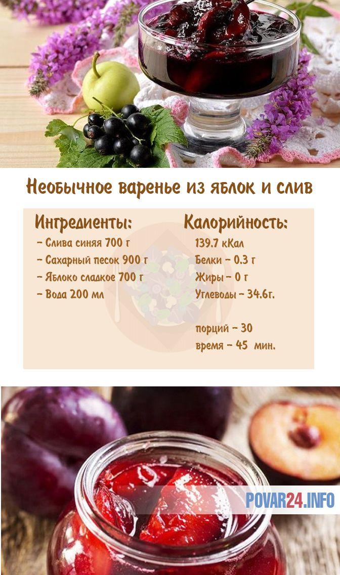 Рецепт варенья из сливы без косточек