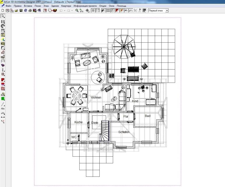 Программа для дизайна интерьера arcon