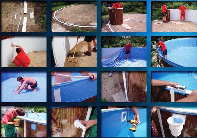 Как выбрать лучший каркасный бассейн: типы, особенности подбора, важные характеристики, обзор 6 популярных моделей, их плюсы и минусы