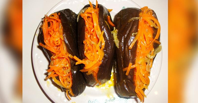 Салат «десяточка» на зиму с баклажанами – 5 рецептов