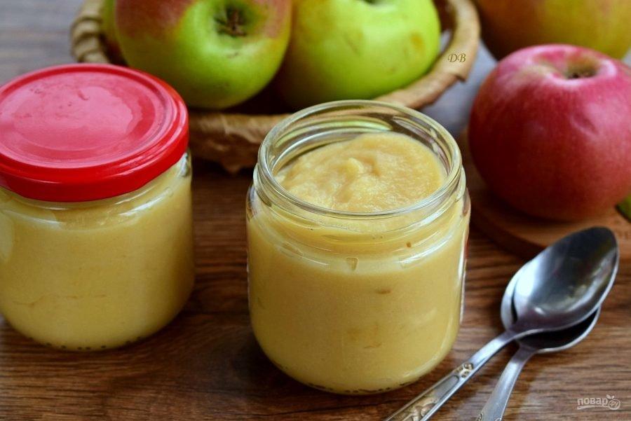 Варенье из антоновки со сгущенкой. пюре неженка из яблок с добавлением сгущёнки на зиму