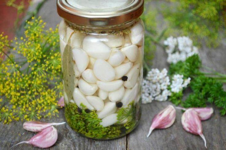 Стрелки чеснока: рецепт приготовления на зиму в домашних условиях с фото и видео