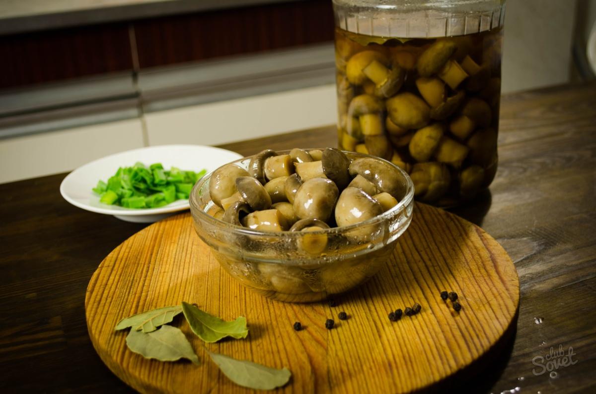 Маринованные шампиньоны: 7 рецептов быстрого приготовления