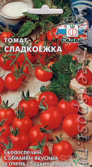 Описание и характеристика сорта томата сладкоежка, его урожайность - всё про сады