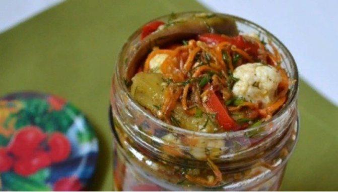Консервация цветной капусты по-корейски: пикантная закуска на все случаи жизни