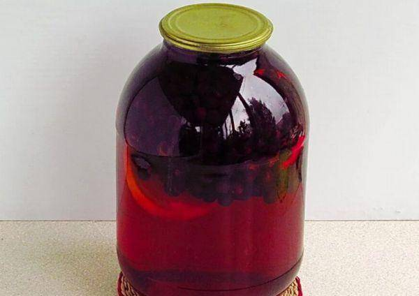 17 простых рецептов приготовления компота из черноплодной рябины на зиму