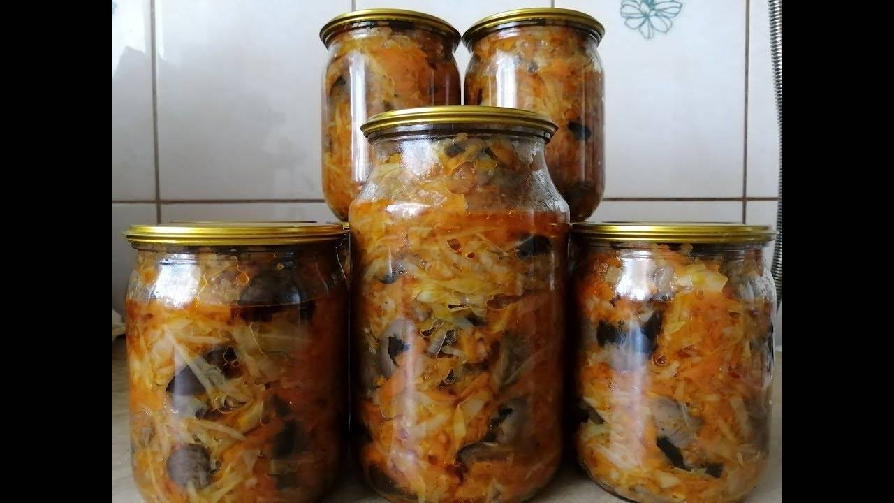 Грибная солянка с капустой: лучшие рецепты на зиму
