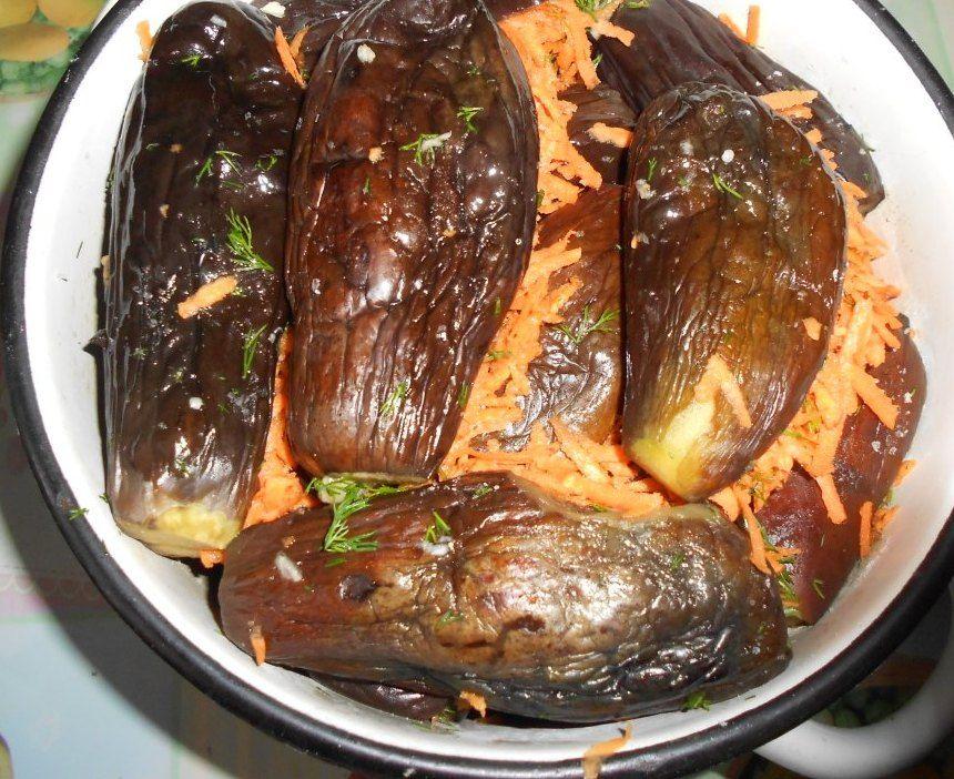 3 лучших рецепта приготовления баклажанов с морковью на зиму