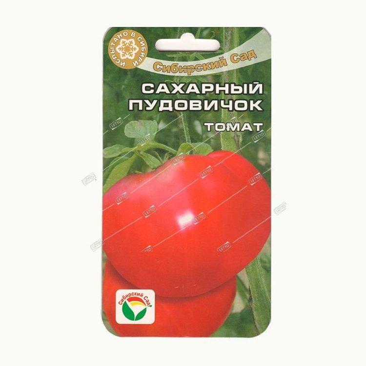 Выращивание томата сахарный пудовичок