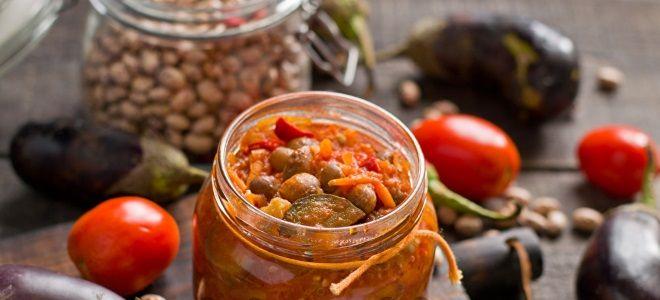 Лучшие рецепты приготовления баклажанов с фасолью на зиму - всё про сады