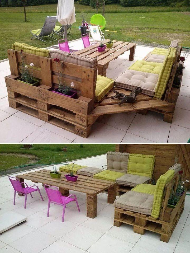 Мебель из поддонов своими руками: садовый конструктор из паллет - огород, сад, балкон - медиаплатформа миртесен