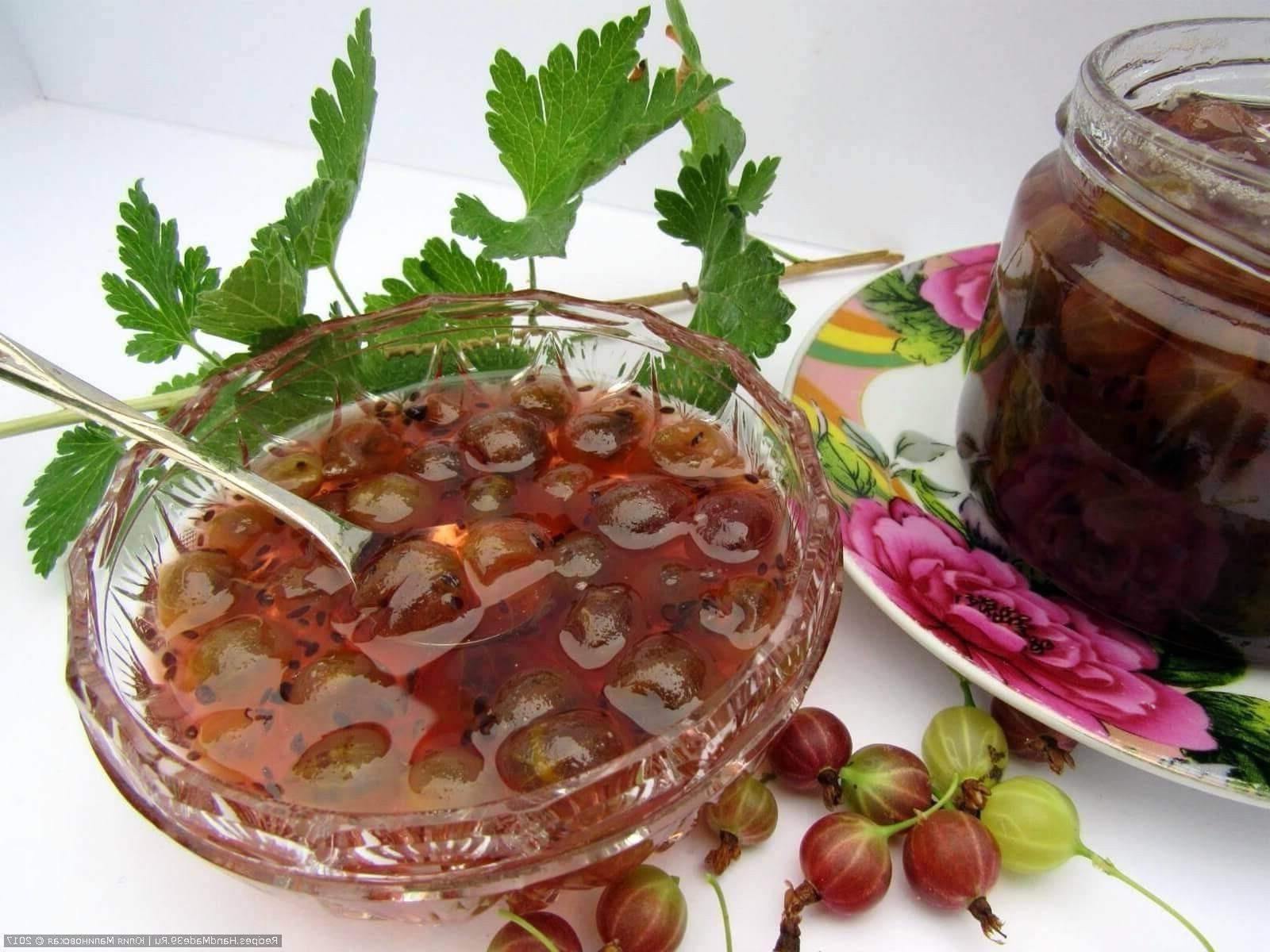Крыжовник с лимоном на зиму: рецепты без варки с пошаговым приготовлением