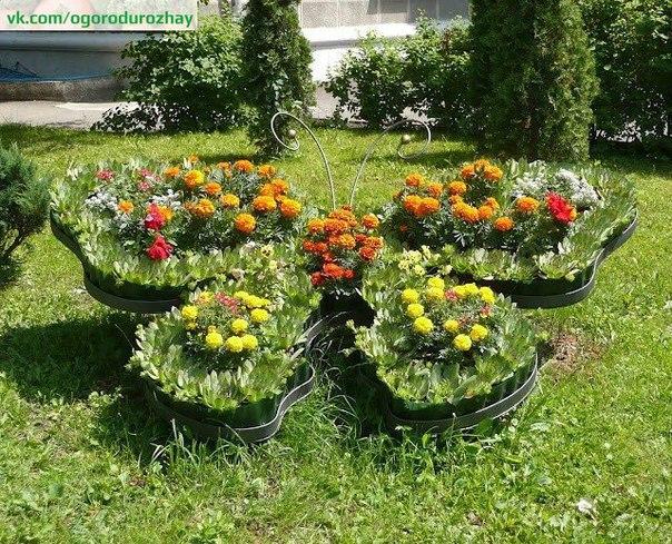 Цветники из многолетников: схемы посадки, виды клумб и цветов
