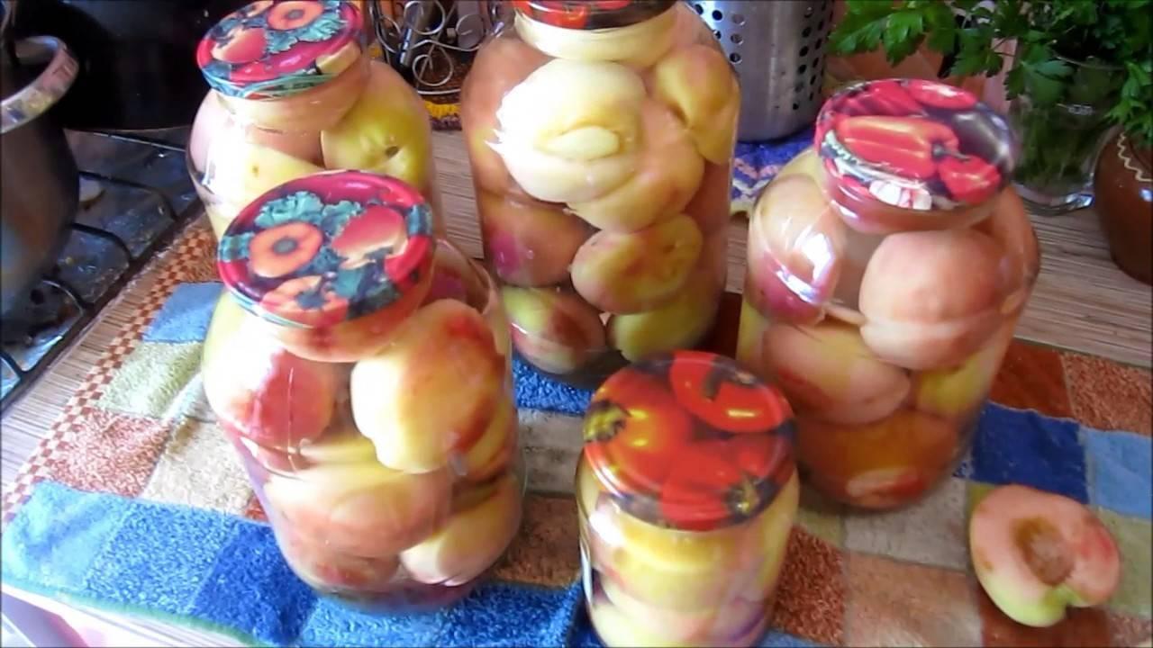 Сладкая зима: заготавливаем персики на зиму