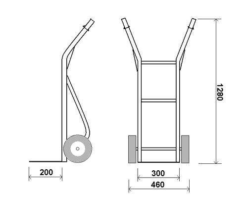 О садовой тачке своими руками: чертежи, как сделать самодельную тележку для дачи