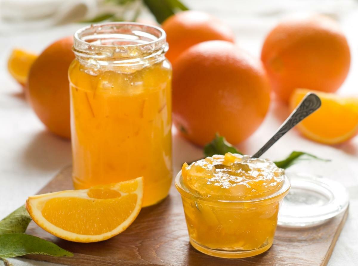 Джем из апельсинов: как приготовить вкусный апельсиновый конфитюр с цедрой, без кожуры, с различными добавками
