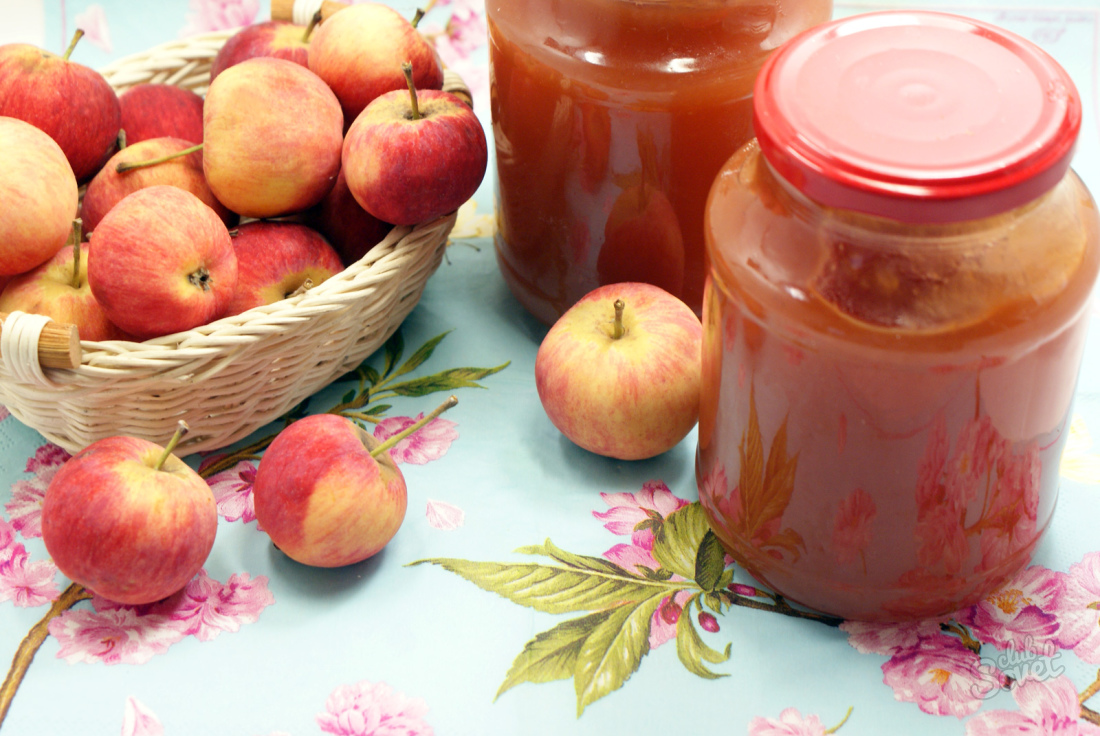 Повидло из яблок на зиму пошаговый рецепт