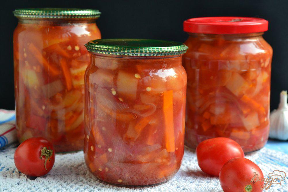 Лечо из помидор, перца, моркови и лука - вкусные рецепты на зиму