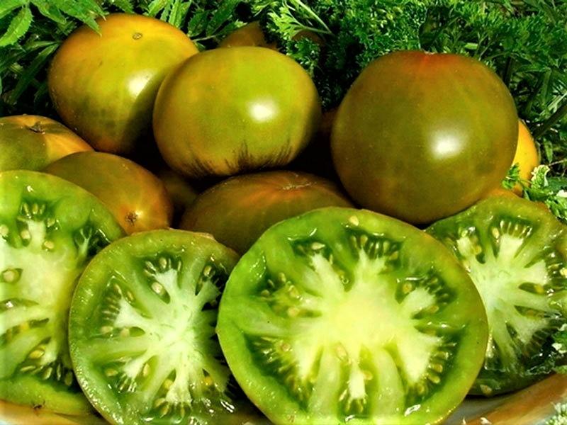 Томат изумрудное яблоко: описание сорта, отзывы, фото   tomatland.ru