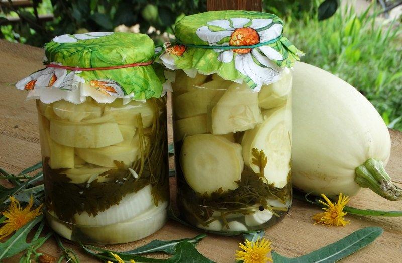 Кабачки на зиму - 7 очень вкусных рецептов приготовления кабачков на зиму