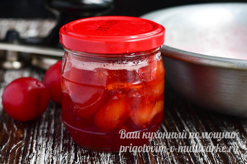Алыча на зиму - рецепты простого варенья с косточками, компота и соусов ткемали и чатни