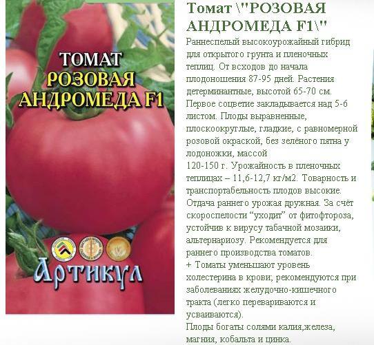 Характеристика и описание гибридного томата Красная стрела f1