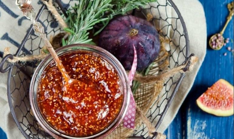 Варенье из инжира — 6 рецептов приготовления инжирного варенья