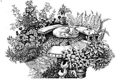 Клумба из шин своими руками: копеечная красота на дачном участке