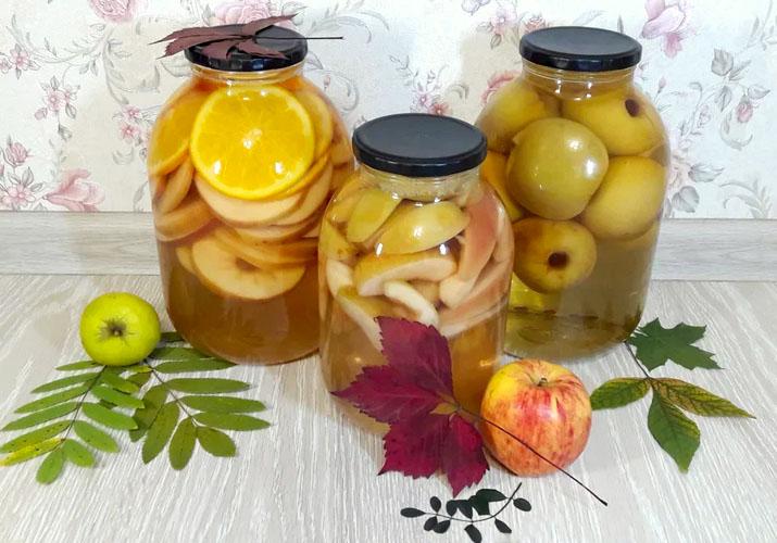Компот из груш на зиму простые и быстрые рецепты на 3-х литровую банку