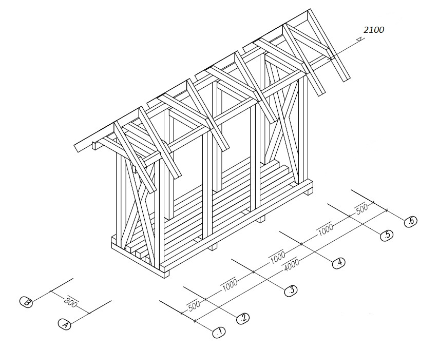 Сарай: устройство с фундаментом и без, поэтапная инструкция как построить своими руками (50+ фото & видео) +отзывы