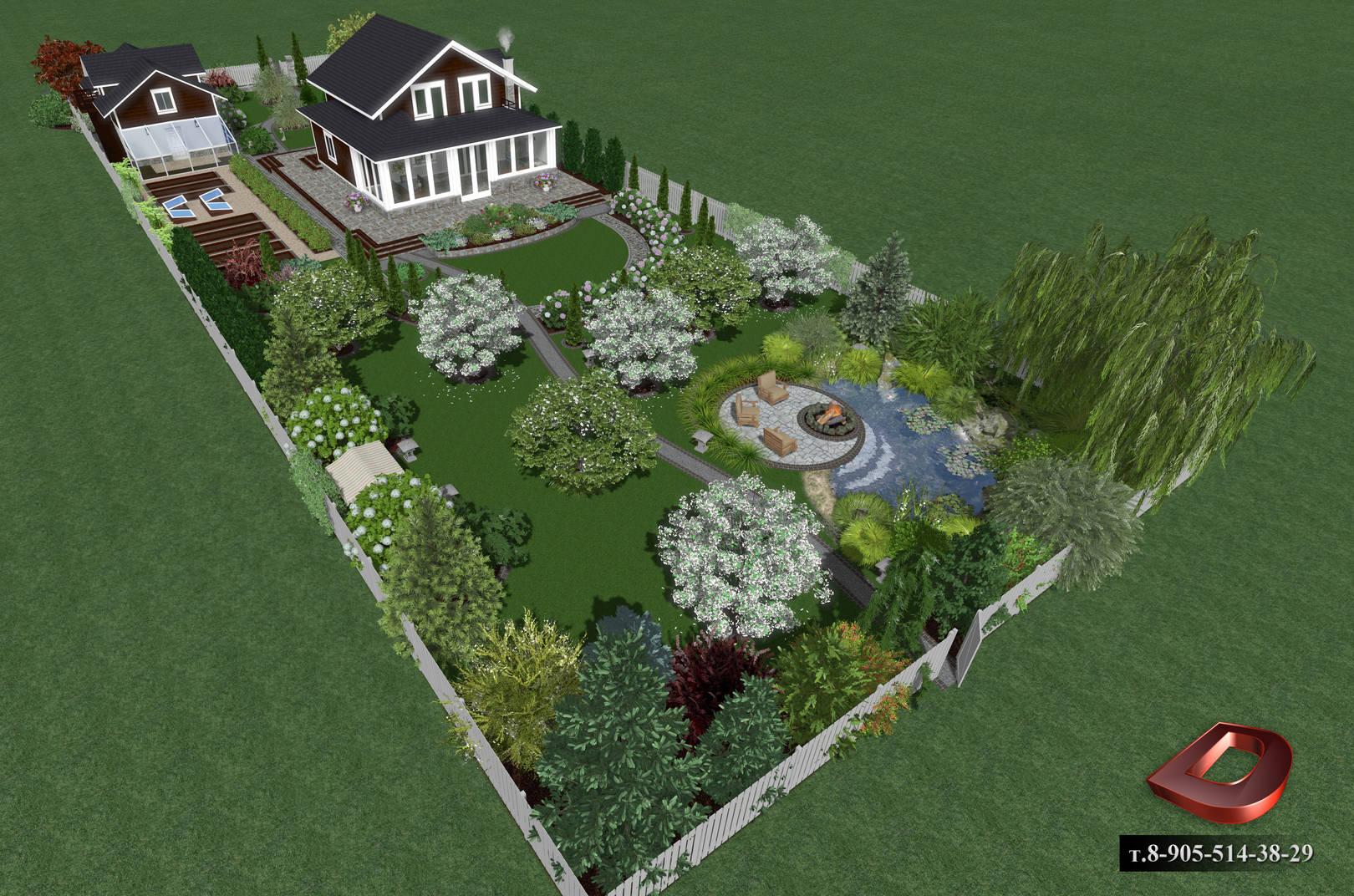 Ландшафтное проектирование (95 фото): проект дизайна участка родового поместья, работы по оформлению территории