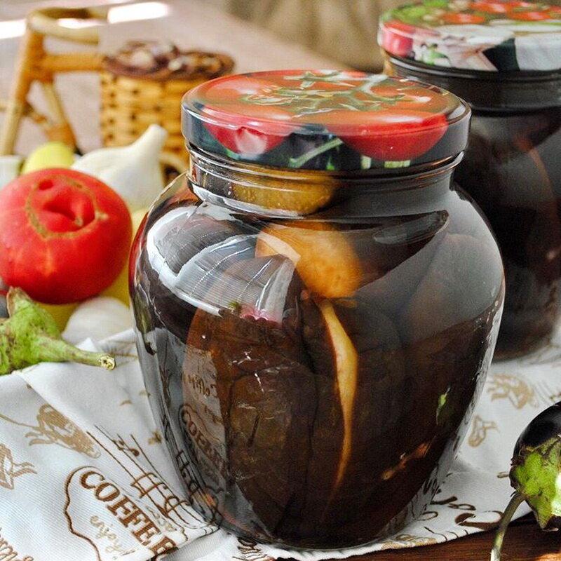 Баклажаны маринованные на зиму (целиком, резанные) - рецепты с фото