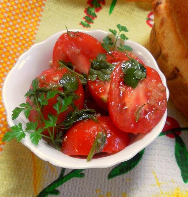 Быстрые и вкусные рецепты приготовления маринованных помидоров по-грузински на зиму