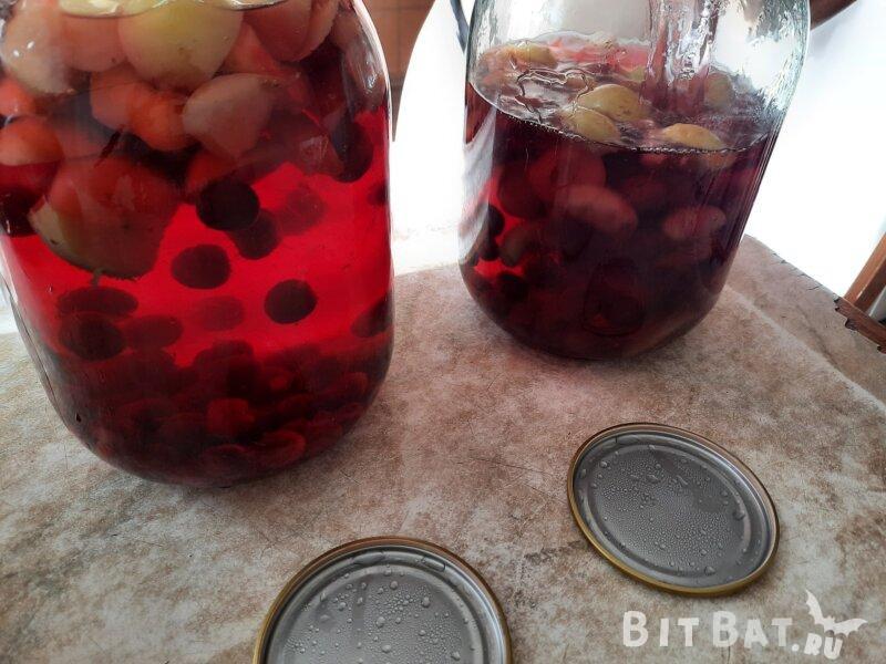 Компот из вишни на зиму - 8 простых рецептов без стерилизации
