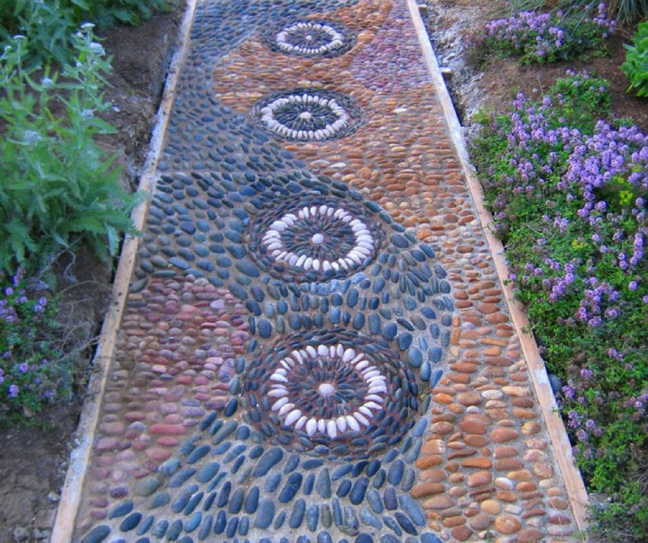 Камень плитняк для садовых дорожек – укладка своими руками, советы по выбору