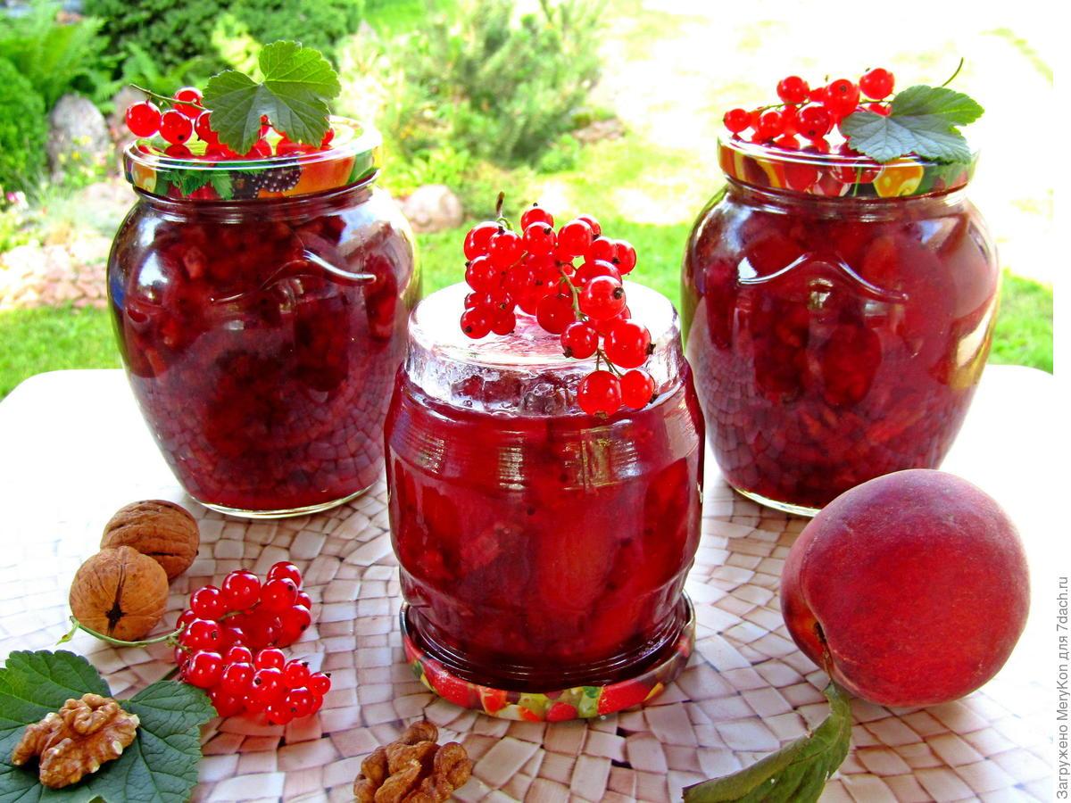 Варенье из красной смородины - простые рецепты на зиму