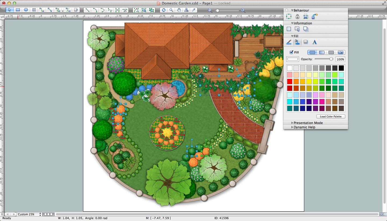 Программы для ландшафтного дизайна — платные и бесплатные