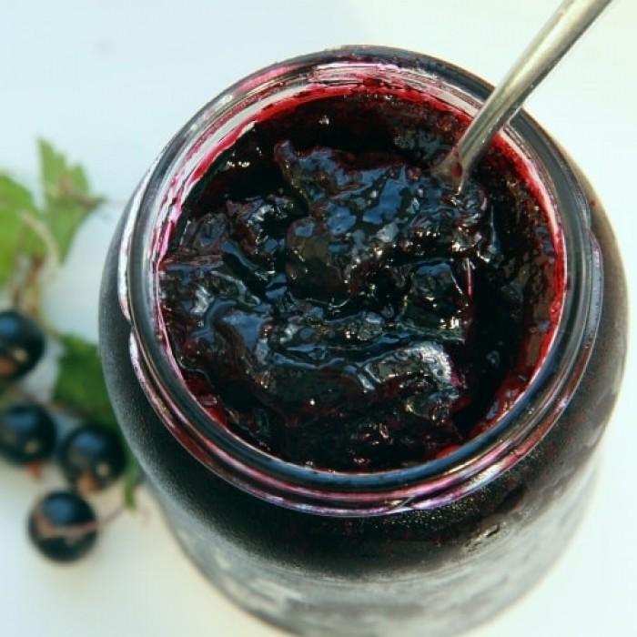 Рецепты желейного варенья из черной смородины