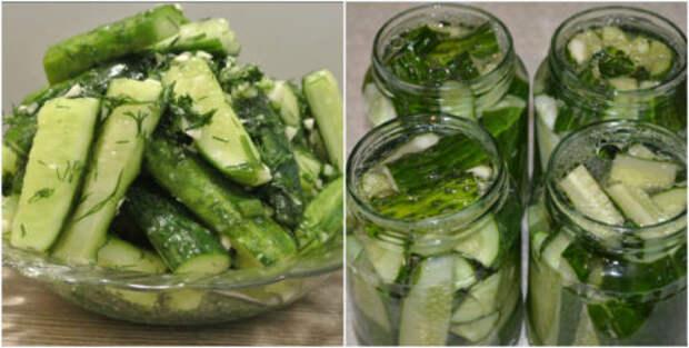 Салат из огурцов на зиму - палочка-выручалочка круглый год: рецепт с фото и видео