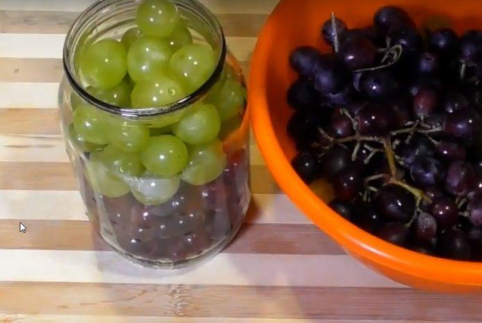 Маринованный виноград на зиму — 7 рецептов оригинальной закуски