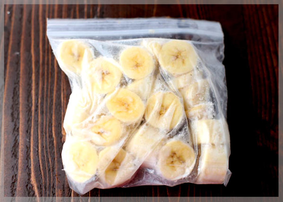 Я часто замораживаю бананы или разные заготовки из них: главное - правильно это делать