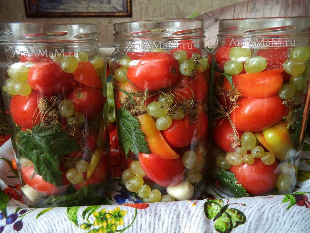 Консервация помидор на зиму — рецепты заготовок