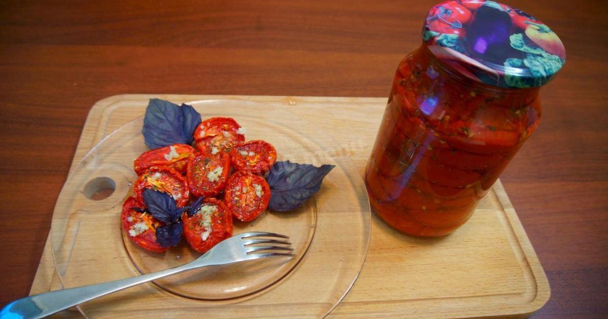 Вяленые помидоры в домашних условиях: 17 пошаговых рецептов на зиму с фото