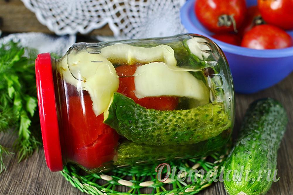 Ассорти на зиму из огурцов и помидоров рецепты засолки и маринования