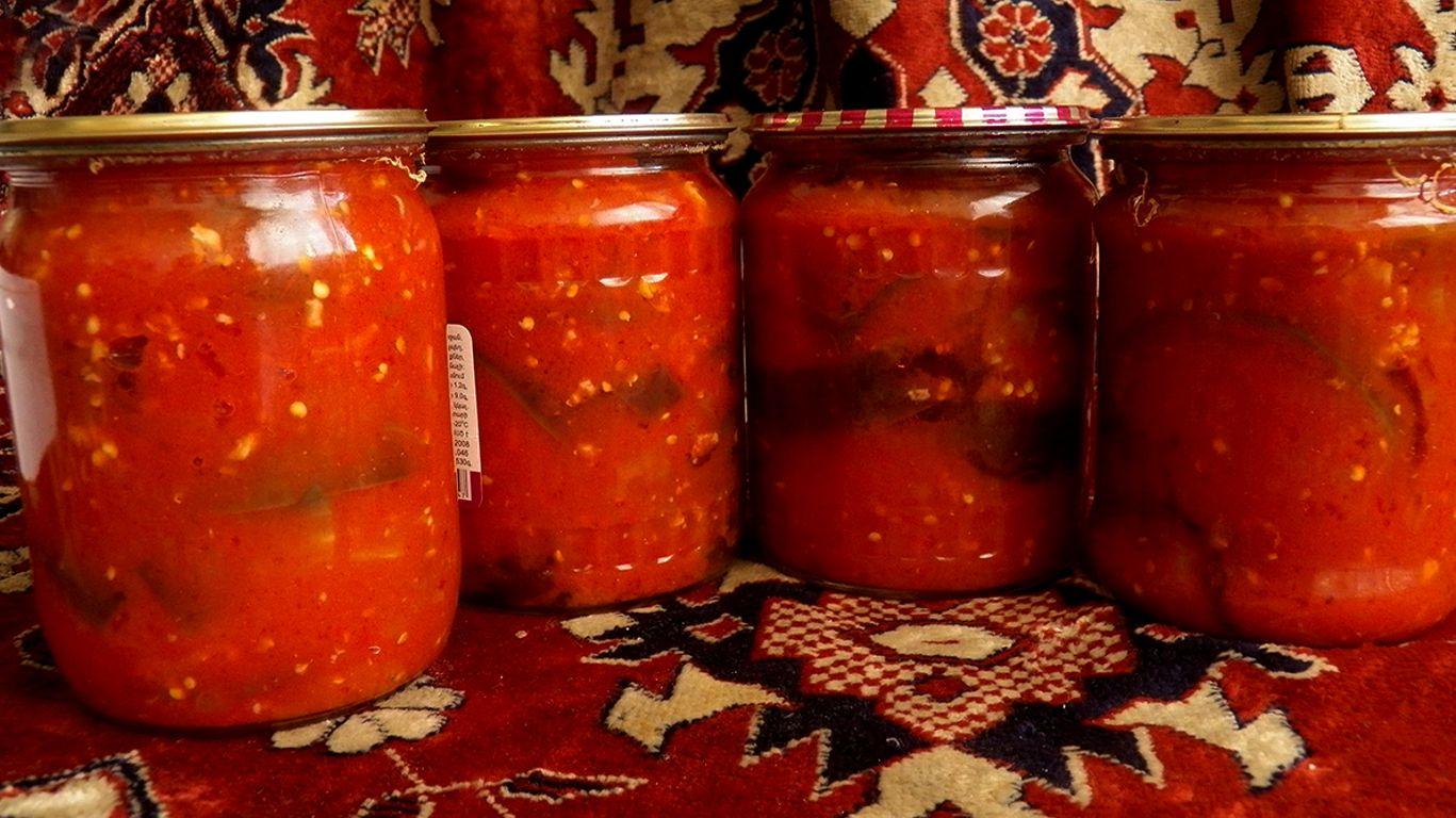 Баклажаны в томате на зиму лучшие рецепты