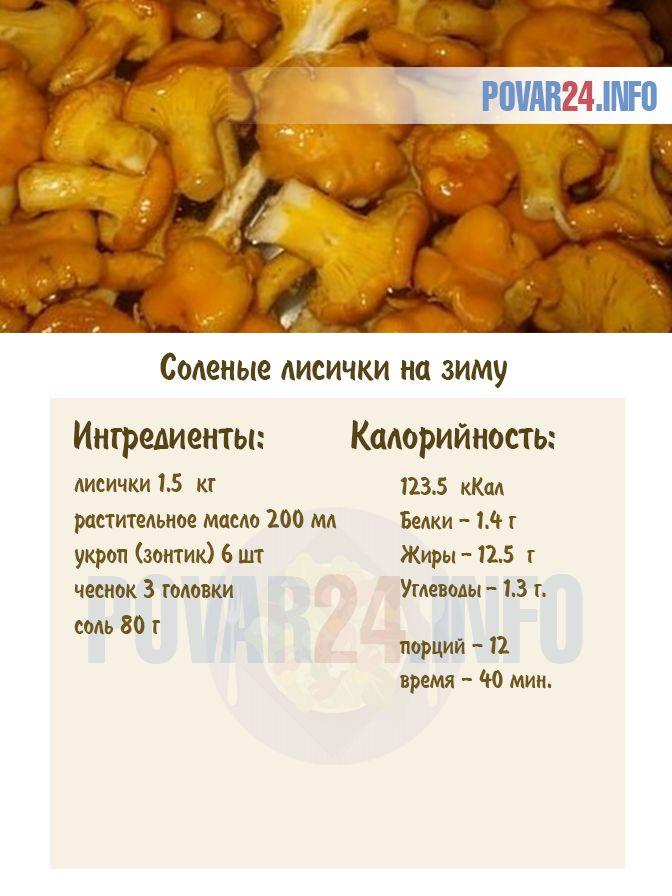 Маринованные лисички на зиму — 7 рецептов приготовления грибов лисичек
