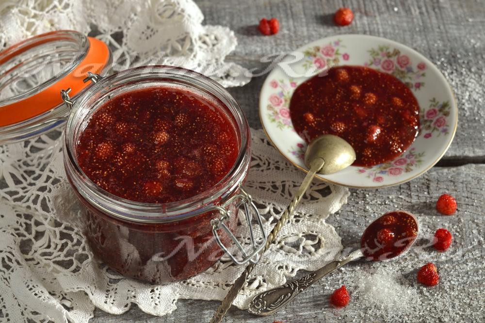 Земляничное варенье на зиму: рецепты с фото пошагово