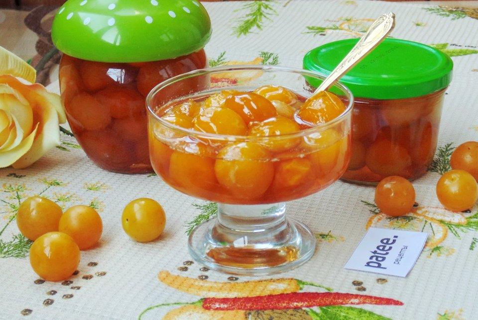 Варенье из желтой сливы - рецепты с косточкой, без сахара, с какао и апельсином